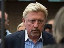 boris becker denies bankruptcy caused us open no show