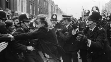 when protesters clashed at the battle of lewisham