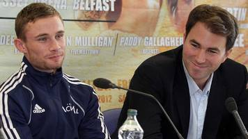 carl frampton: eddie hearn wants former world champion back at matchroom