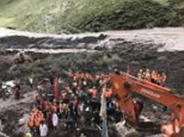 china landslides kill 30 in rural areas battered by rain