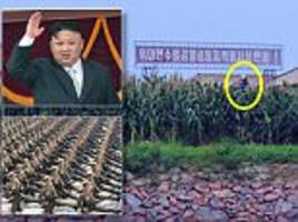 north korean soldiers told to steal corn for imminent war