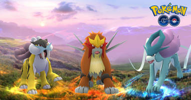 pokémon go introduces three new johto legendary pokemon
