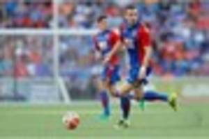 crystal palace midfielder looks set for the exit door