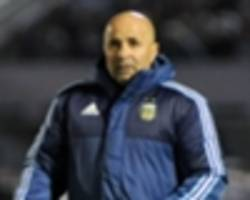 'we have a bitter taste' - sampaoli disappointed after uruguay draw