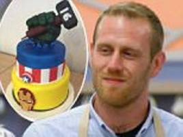Gbbo Favourite Steven Carter Bailey Sparks Fix Row One News Page Uk