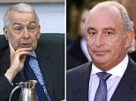 sir philip green demands apology from labour's frank field