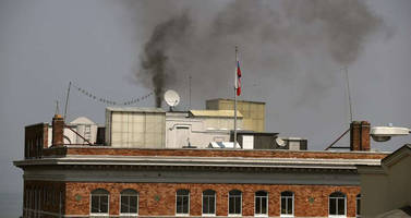 firefighters scramble after smoke pours from russian consulate chimney in san francisco