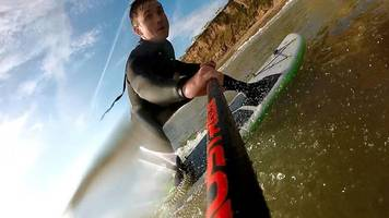 english channel paddleboard crossing for rnli sheringham