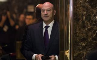 "us economic advisor gary cohn says he has a ""great"" relationship with trump"