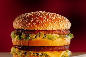 facebook is going crazy over this big mac eating challenge