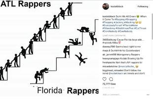 kodak black has the answer for why atlanta's winning compared to florida rap