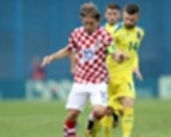 'fifa don't care about the players' - modric fumes after croatia beat kosovo