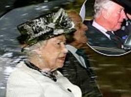 the queen attends church service at crathie kirk