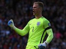 joe hart's days between the sticks are numbered