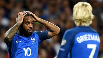 griezmann, mbappe, pogba, lemar, giroud - but france can't break down luxembourg