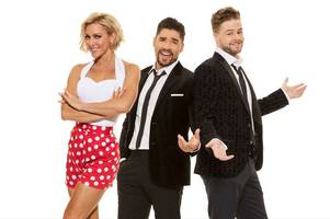 strictly come dancing stars louis smith, natalie lowe and jay mcguinness to perform on scunthorpe stage