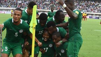 2018 world cup: nigeria inspired by carl ikeme to qualify for russia