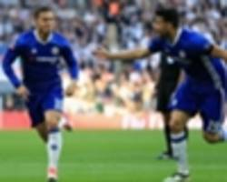hazard wants awol diego costa back at chelsea