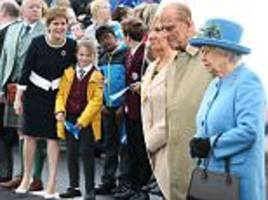 queen and duke of edinburgh open new queensferry crossing
