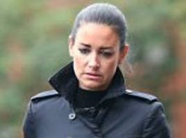 sky sports presenter kirsty gallacher appears at court