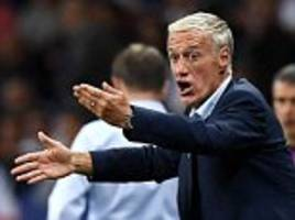 france boss didier deschamps concludes draw 'infuriating'