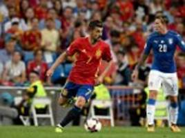 spain striker david villa out of world cup qualifier squad