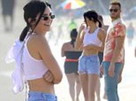 kendall jenner with blake griffin for fifth day running