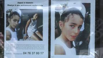 maëlys de araujo: man charged with kidnap of missing girl