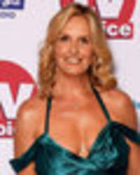 what would rod say? penny lancaster serves cleavage overload in sex-tremely low-cut dress