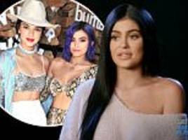 kylie jenner addresses frosty relationship with kendall