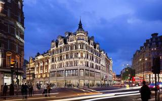 burberry has bagged this four-storey shop in knightsbridge