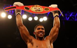 details of anthony joshua's next fight have been confirmed