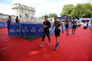 nottingham's sophie coldwell 'chuffed' with silver medal in first british triathlon mixed relay cup