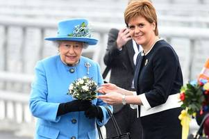 the queen opens new queensferry crossing in special ceremony
