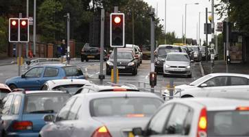 new traffic lights enrage belfast motorists - transport staff call for patience