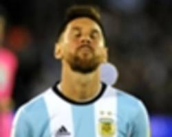 world cup qualifying: could argentina really fail to make russia 2018?