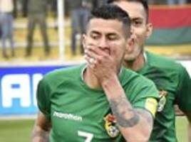 bolivia 1-0 chile: match report