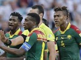 cameroon miss out on 2018 world cup qualification