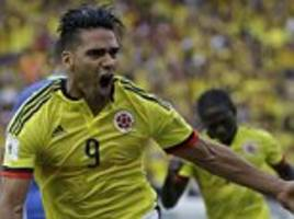 colombia 1-1 brazil: falcao cancels out willian strike