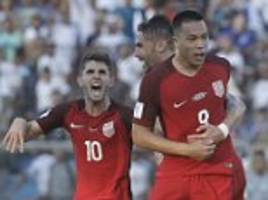 honduras 1-1 usa: bobby wood rescues a point