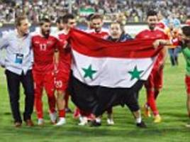 syria seal world cup play-off place after iran draw
