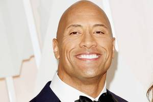 the rock meets with 10-year-old 'hero' who saved his brother's life with 'san andreas' move (photos)