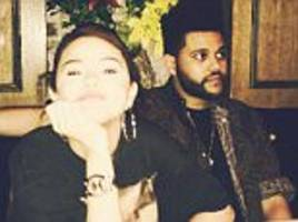 selena gomez shares photo from date night with the weeknd
