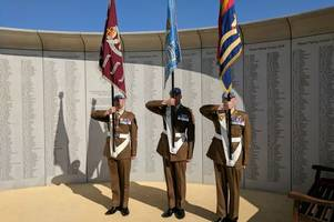 notts firm builds memorial for 5,000 soldiers who died in service