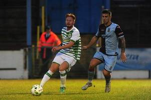 former plymouth argyle striker louis rooney continues goalscoring start to linfield career
