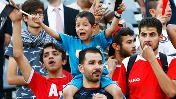 world cup: syria draw with iran to keep russia 2018 qualifying hopes alive