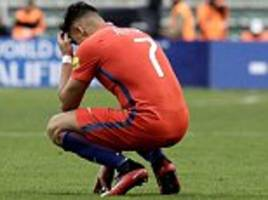 arsenal star alexis sanchez hits out after chile loss