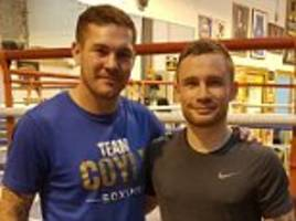 carl frampton confirms jamie moore will be his new trainer