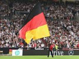 fifa prosecutes germany for nazi fan chanting at game