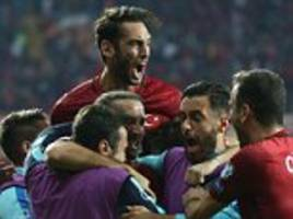 world cup qualifying round-up: croatia lose to turkey